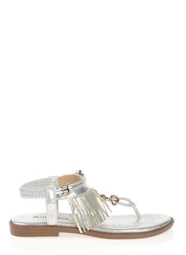 D by Divarese Sandalet Gümüş